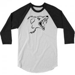 Screaming Mad Dog 3/4 Sleeve Shirt | Artistshot