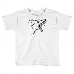 Screaming Mad Dog Toddler T-shirt | Artistshot