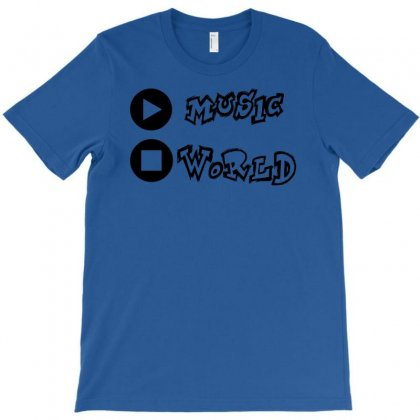 Stop World Play Music T-shirt Designed By Chilistore