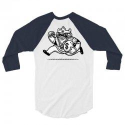 the burglar king 3/4 Sleeve Shirt | Artistshot
