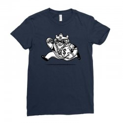 the burglar king Ladies Fitted T-Shirt | Artistshot