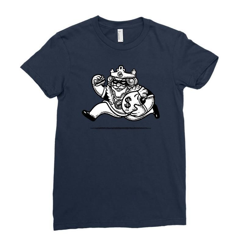 The Burglar King Ladies Fitted T-shirt | Artistshot