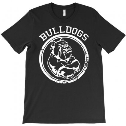 Bulldog Sports Team T-shirt Designed By Mdk Art
