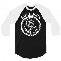 Bulldog Sports Team 3/4 Sleeve Shirt | Artistshot