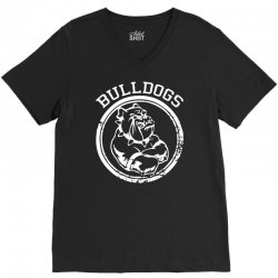 Bulldog Sports Team V-Neck Tee | Artistshot