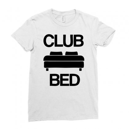 Club Bed Ladies Fitted T-shirt Designed By Ditreamx