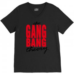the gang bang theory V-Neck Tee | Artistshot