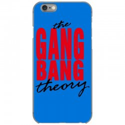 the gang bang theory iPhone 6/6s Case | Artistshot