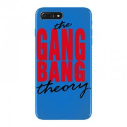 the gang bang theory iPhone 7 Plus Case | Artistshot