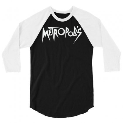 Metropolis (1927) 3/4 Sleeve Shirt Designed By Apuy