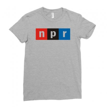 Npr Ladies Fitted T-shirt