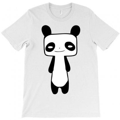Thin Panda T-shirt Designed By Mdk Art
