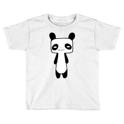 Thin Panda Toddler T-shirt Designed By Mdk Art