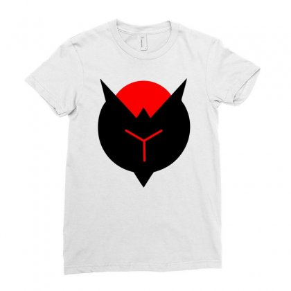 Crimson Reject Ladies Fitted T-shirt Designed By Mdk Art