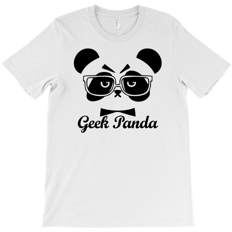 Geek Panda T-shirt | Artistshot