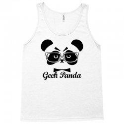 Geek Panda Tank Top | Artistshot