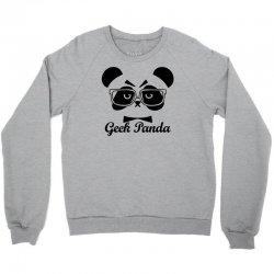 Geek Panda Crewneck Sweatshirt | Artistshot