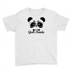 Geek Panda Youth Tee | Artistshot