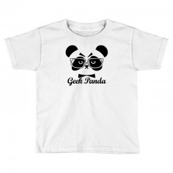 Geek Panda Toddler T-shirt | Artistshot