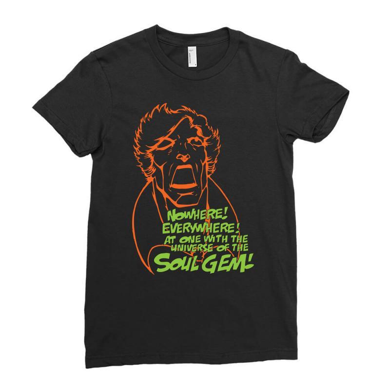 Adam Warlock & The Soul Gem Ladies Fitted T-shirt | Artistshot