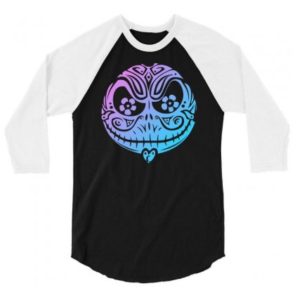 Nightmare Before Sweet 3/4 Sleeve Shirt Designed By Mdk Art