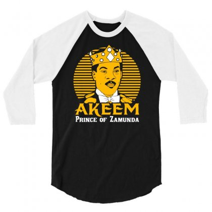 Akeem Prince Of Zamunda 3/4 Sleeve Shirt Designed By Chilistore