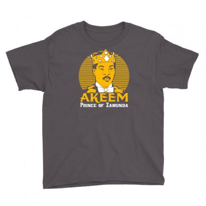 Akeem Prince Of Zamunda Youth Tee Designed By Chilistore