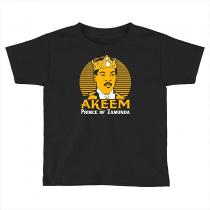Akeem Prince Of Zamunda Toddler T-shirt Designed By Chilistore