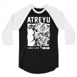 atreyu long live 3/4 Sleeve Shirt | Artistshot