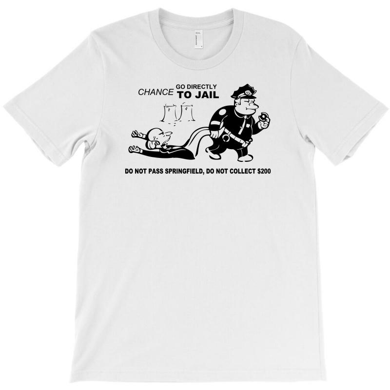 35f5d2da0 Custom Go Directly To Springfield T-shirt By Thesamsat - Artistshot