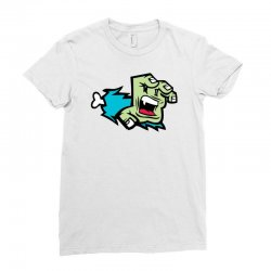Screaming Paw Ladies Fitted T-Shirt | Artistshot