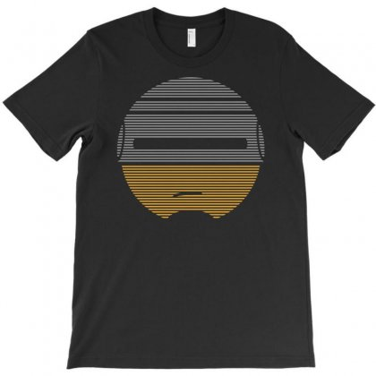 Robocop Smiley Face Movie Parody T-shirt Designed By Apuy