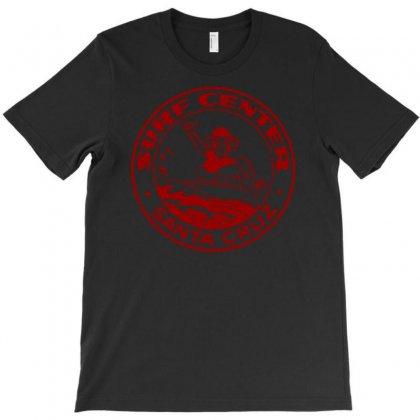 Santa Cruz Surfing T-shirt Designed By Apuy