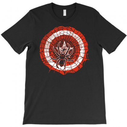 Spider And Star T-shirt Designed By Apuy