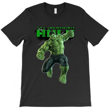 The Incredible Hulk Superhero Avengers The Age Of Ultron T-shirt Designed By Apuy