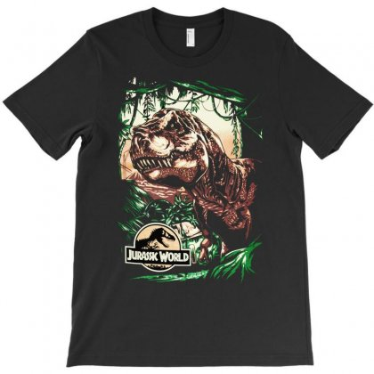 The Lost World Jurassic Park Dinosaurs T-shirt Designed By Apuy