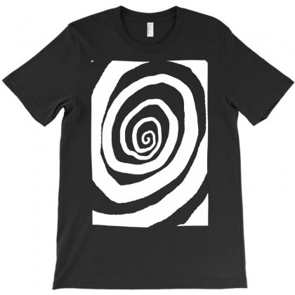 Trippy Spiral Doodle T-shirt Designed By Apuy