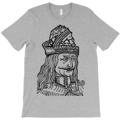 Vlad The Impaler T-shirt Designed By Apuy