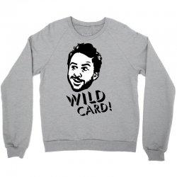 wild card Crewneck Sweatshirt   Artistshot