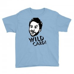 wild card Youth Tee   Artistshot