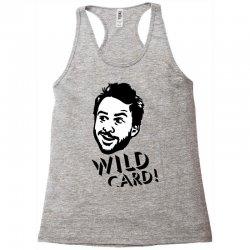 wild card Racerback Tank   Artistshot