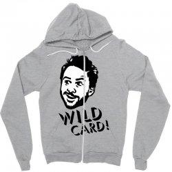 wild card Zipper Hoodie   Artistshot