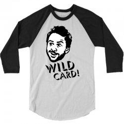 wild card 3/4 Sleeve Shirt   Artistshot