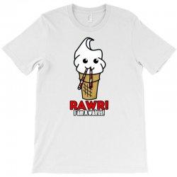 rawr i am a walrus ice cream cute T-Shirt | Artistshot