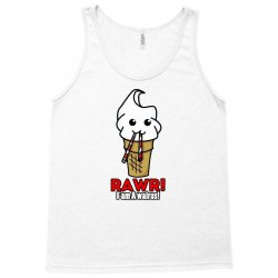 rawr i am a walrus ice cream cute Tank Top | Artistshot