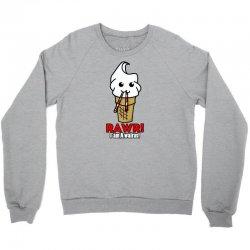 rawr i am a walrus ice cream cute Crewneck Sweatshirt | Artistshot