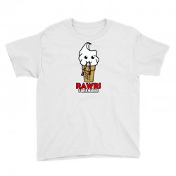 rawr i am a walrus ice cream cute Youth Tee | Artistshot