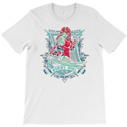 Derby Girl T-shirt Designed By Thesamsat
