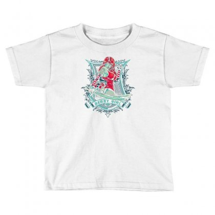 Derby Girl Toddler T-shirt Designed By Thesamsat