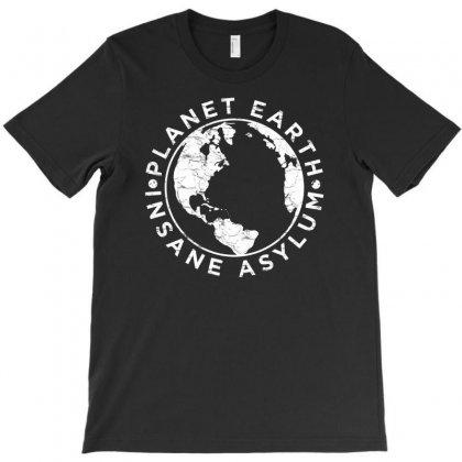 Earth Asylum T-shirt Designed By Chilistore